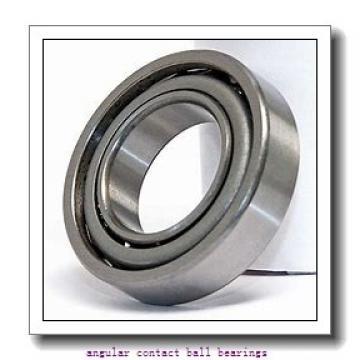 110 mm x 200 mm x 38 mm  NACHI 7222DF angular contact ball bearings