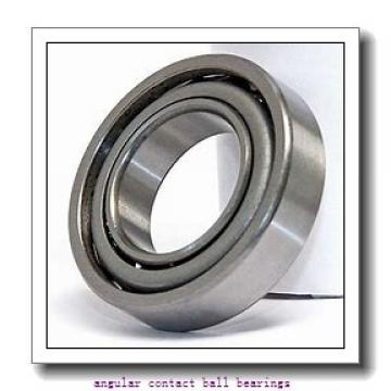 35 mm x 66 mm x 37 mm  PFI PW35660037CS angular contact ball bearings