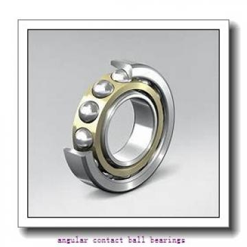 17 mm x 40 mm x 17,462 mm  FBJ 5203 angular contact ball bearings