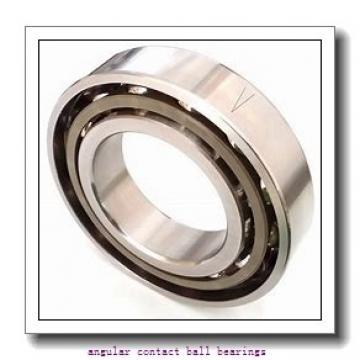90 mm x 190 mm x 43 mm  SKF 7318 BEM angular contact ball bearings