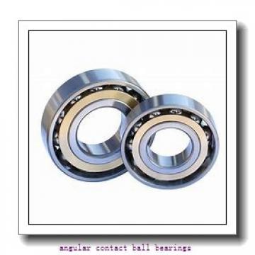 30 mm x 62 mm x 23,8 mm  FAG 3206-BD angular contact ball bearings