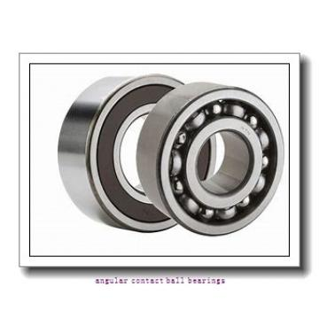 ISO QJ307 angular contact ball bearings
