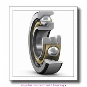 AST 5207ZZ angular contact ball bearings