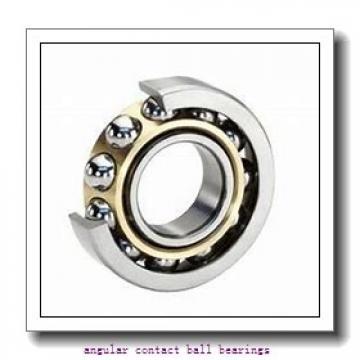 304,8 mm x 546,1 mm x 95,25 mm  RHP MJT12 angular contact ball bearings