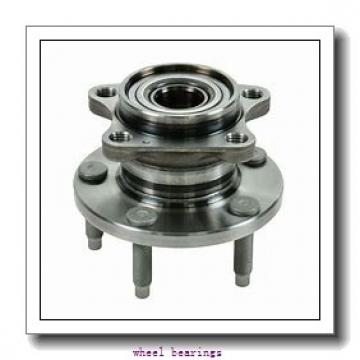 Toyana CX653 wheel bearings