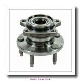 Toyana CX653 wheel bearings